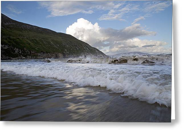 Peaceful Wishes Keem Beach Ireland Greeting Card
