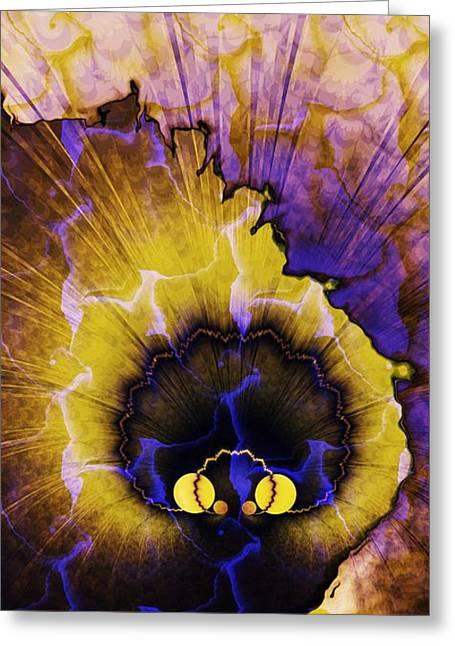 Peacock Dream 2 Greeting Card