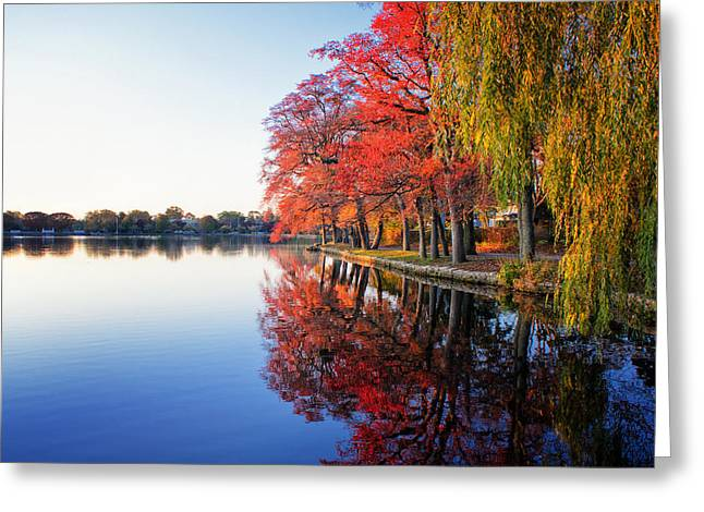 Peak Colors At Argyle Lake Greeting Card