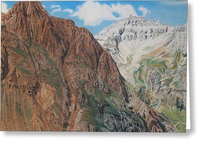 Peaks Of Ouray Greeting Card