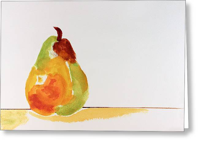 Pear In Autumn Greeting Card