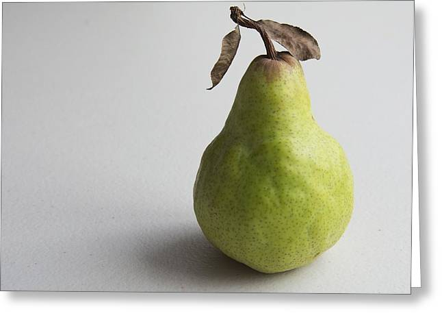 Pear Still Life Protrait Greeting Card