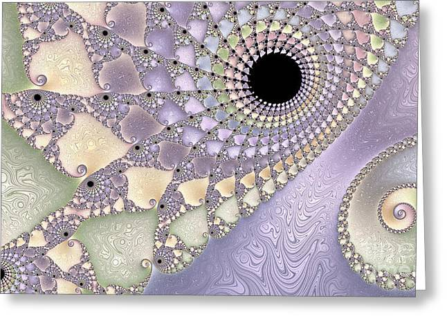 Pearlized  Greeting Card by Heidi Smith