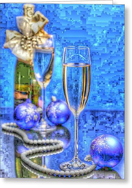 Pearls Greeting Card by Tracie Howard