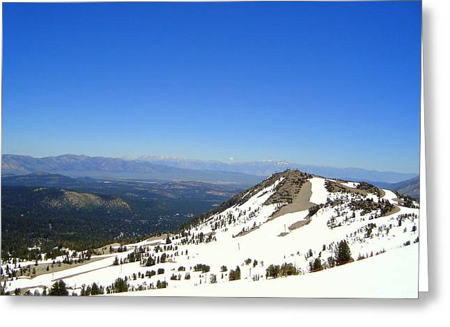 Pearly Mountains  Greeting Card by Elizabeth Trujillo