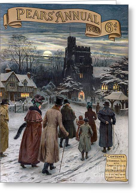 Pears Annual 1913 1910s Uk Cc Villages Greeting Card