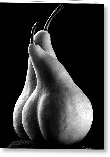 Pears Can Be Sexy Too Greeting Card