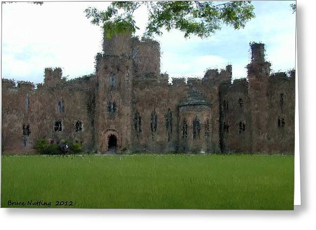 Peckforton Castle Greeting Card by Bruce Nutting