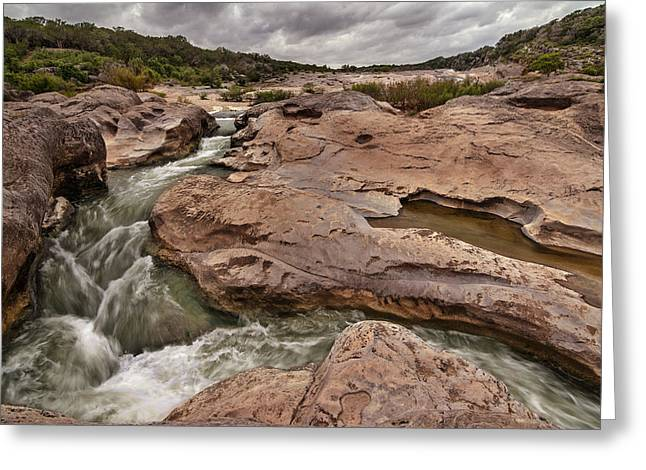 Pedernales Falls Greeting Card
