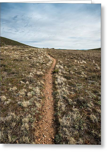 Pedro Fages Trail Greeting Card