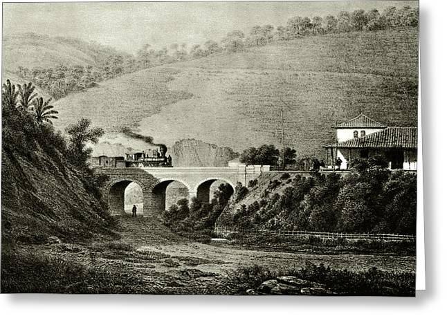 Pedro II Railway Greeting Card