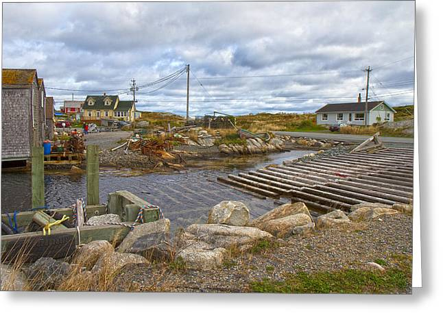 Peggy's Cove 8 Greeting Card by Betsy Knapp