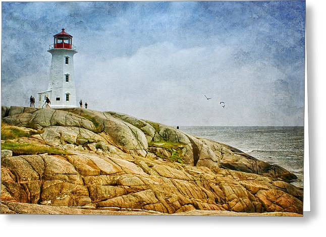 Peggy's Cove Lighthouse - 2 Greeting Card