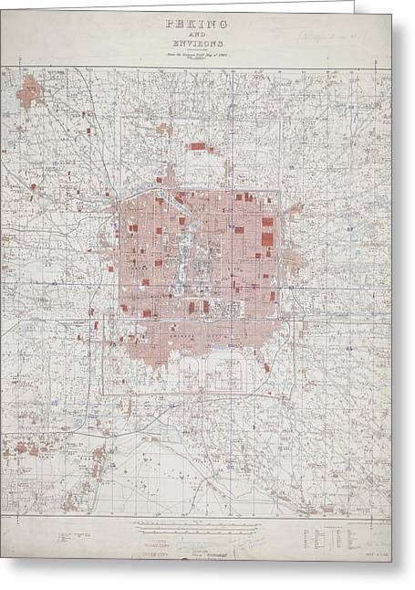 Peking And Environs Greeting Card by British Library