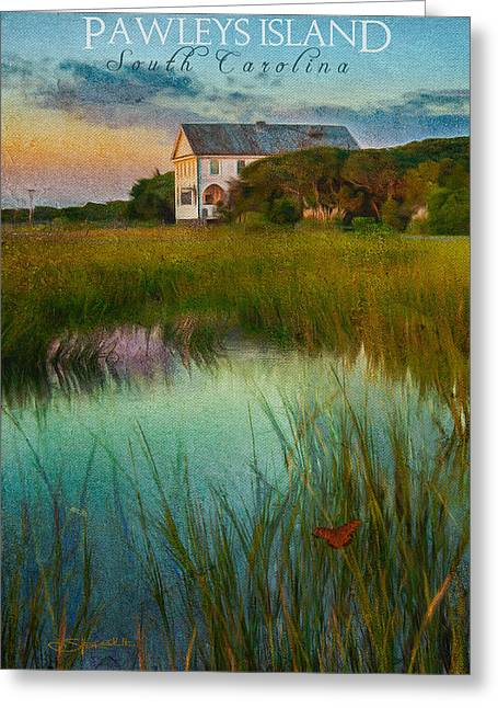 Pelican Inn- Poster Greeting Card
