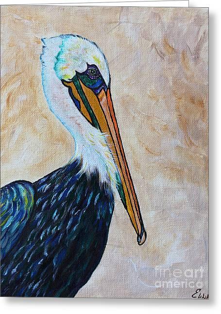 Pelican Pointe Greeting Card by Ella Kaye Dickey