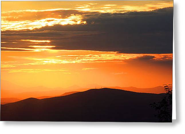 Pelion Highlands Greeting Card by George Rossidis