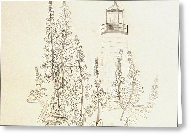 Pemaquid Lighthouse Greeting Card