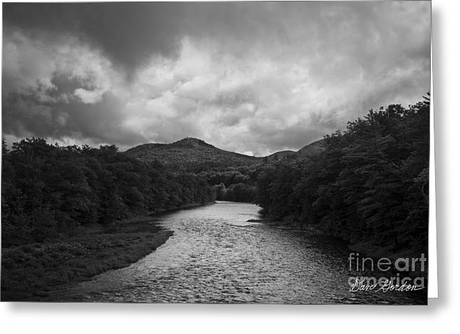 Pemigewasset River Nh Greeting Card