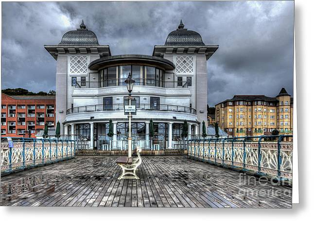 Penarth Pier Pavilion 2 Greeting Card by Steve Purnell