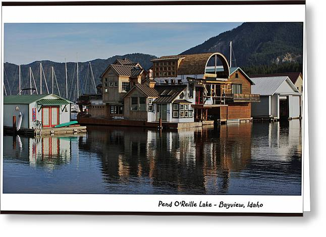 Pend O'reille Lake 2 Greeting Card by Ellen Tully