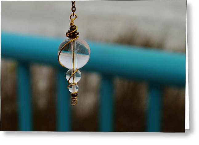 Pendulum Greeting Card by Tara Miller