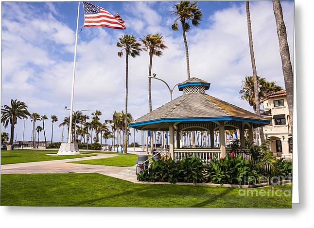 Peninsula Park In Newport Beach Orange County Greeting Card by Paul Velgos