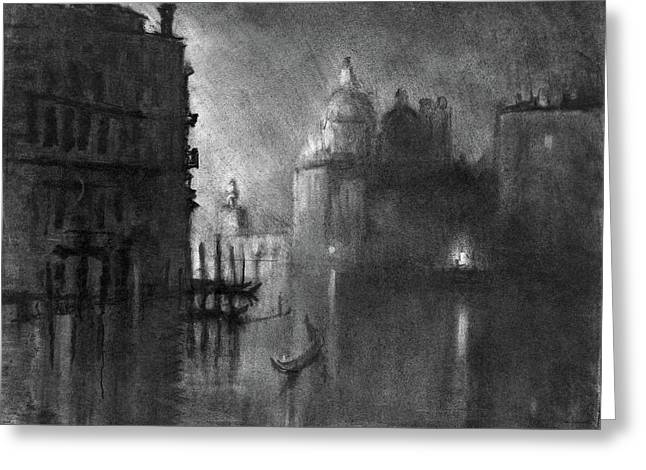 Pennell Venice, C1905 Greeting Card
