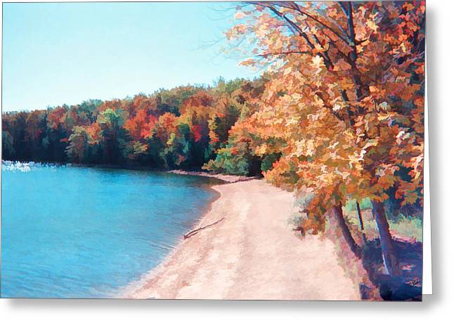 Pennsylvania Autumn 001 Greeting Card