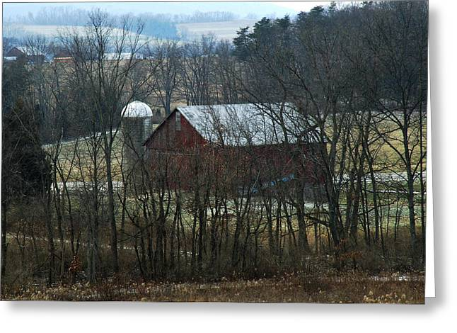Pennsylvania Barn Greeting Card