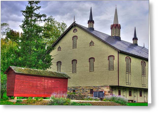 Pennsylvania Country Roads - The Centennial Barn - Fort Hunter Park - Dauphin County Greeting Card