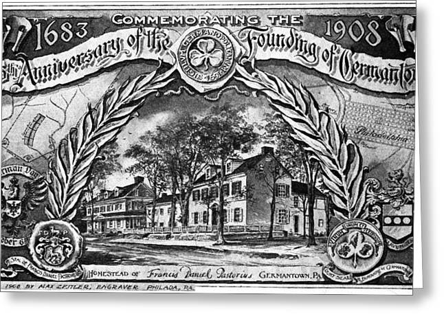 Pennsylvania Germantown Greeting Card by Granger