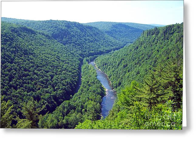 Pennsylvania Grand Canyon 2 Greeting Card