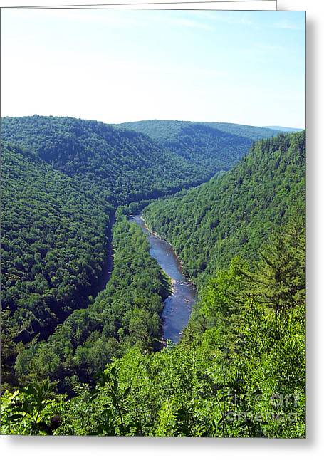 Pennsylvania Grand Canyon 3 Greeting Card