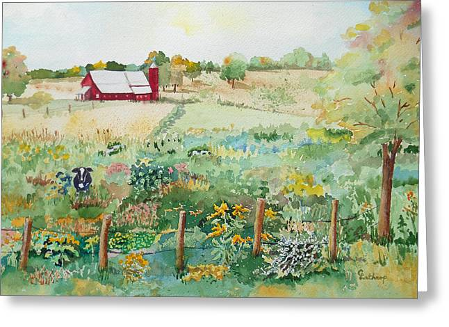 Pennsylvania Pasture Greeting Card