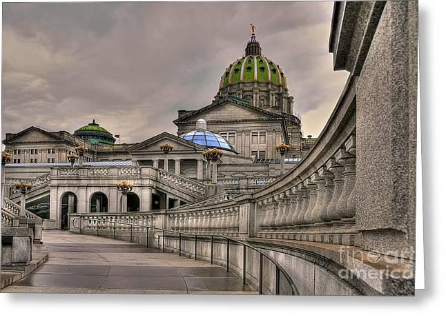 Pennsylvania State Capital Greeting Card