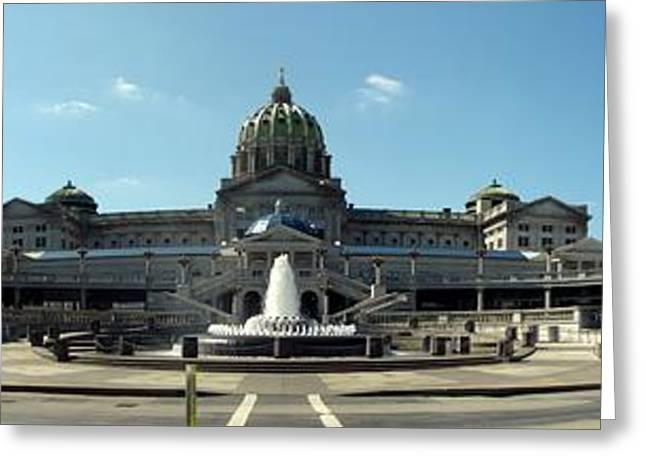 Pennsylvania State Capitol Panorama Greeting Card