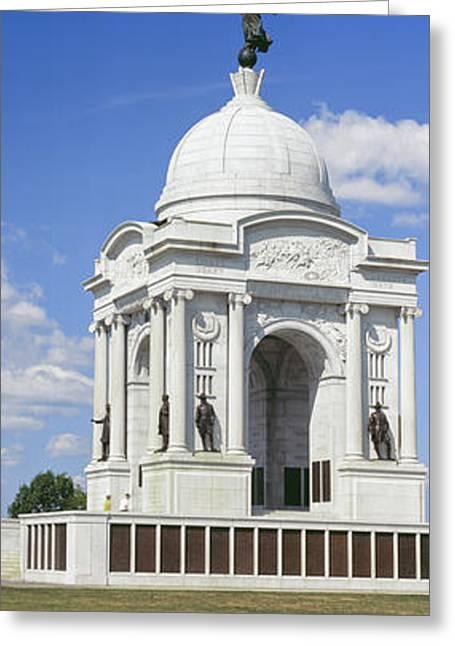 Pennsylvania State Memorial Greeting Card by Panoramic Images