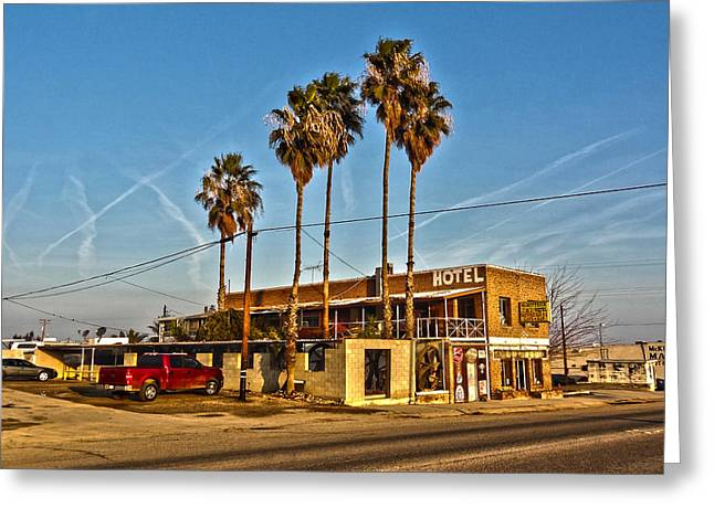 Greeting Card featuring the photograph Penny Bar Mckittrick California by Lanita Williams