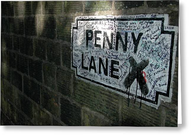 Penny Lane Greeting Card