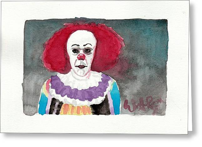 Pennywise Greeting Card by William Ravizza