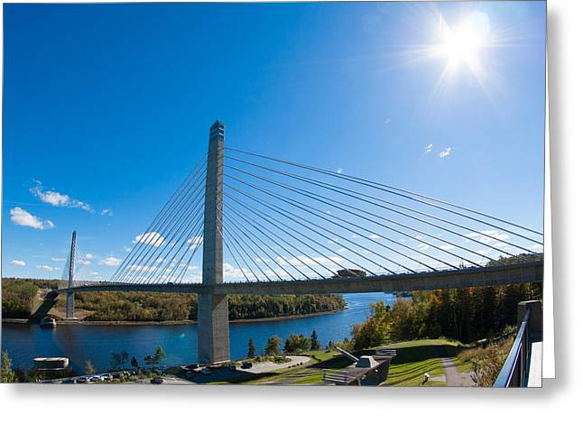 Penobscot Narrows Bridge - Maine Greeting Card