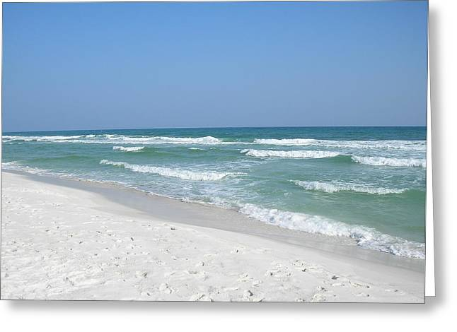 Greeting Card featuring the photograph Pensacola Beach by Alan Lakin