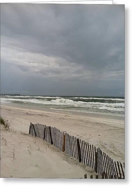 Pensacola Beach Florida Greeting Card