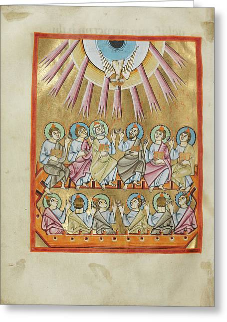 Pentecost Unknown Regensburg, Bavaria, Germany Greeting Card