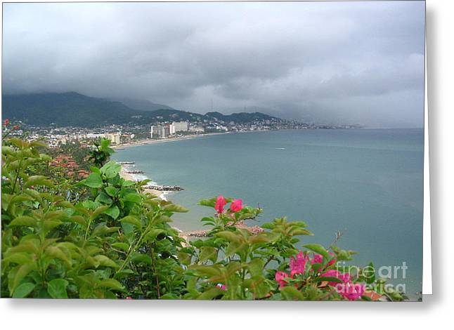 Penthouse View - Puerto Vallarta Greeting Card