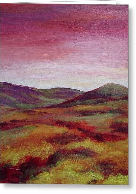 Pentland Hills Scotland Greeting Card