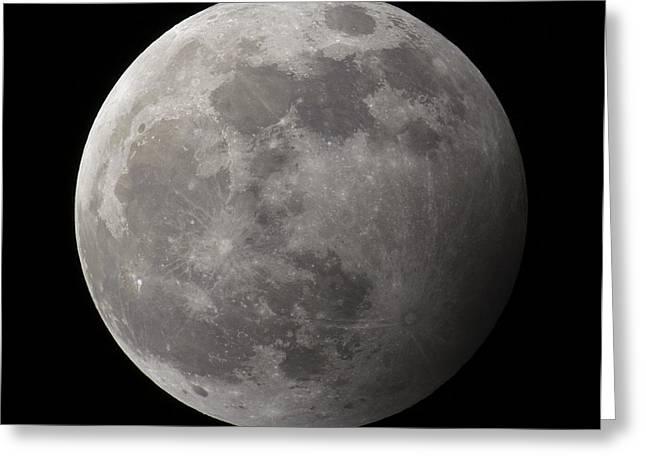 Penumbral Lunar Eclipse Greeting Card