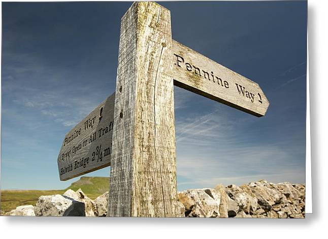 Penyghent In The Yorkshire Dales Greeting Card