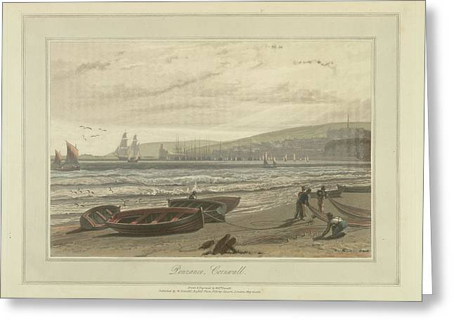 Penzance Greeting Card by British Library